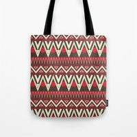 Tribal New World  Tote Bag