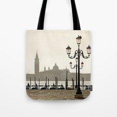 Sunny Morning at San Marco Tote Bag