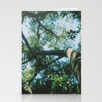 adelaide leaves Stationery Cards
