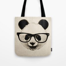 Panda Head Too Tote Bag