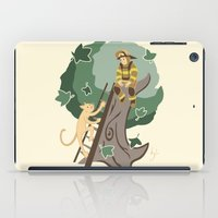 Stuck In A Tree iPad Case