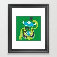 Mister Greene Framed Art Print