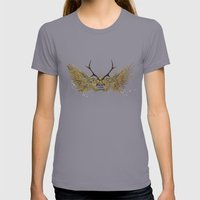 Dream Within A Dream Womens Fitted Tee Slate SMALL