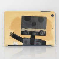 Happy Robot Happy Cat iPad Case
