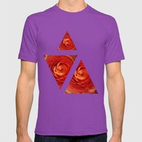 Orange Mens Fitted Tee Ultraviolet SMALL