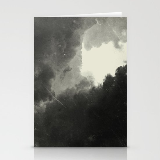 Hole In The Sky III Stationery Card
