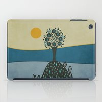 Lone Tree In The Hills iPad Case