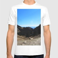 Dome Mens Fitted Tee White SMALL