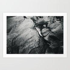Waters of the Merced Art Print