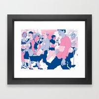 MY OWN PRIVATE PILL Framed Art Print