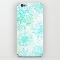 Flowery iPhone & iPod Skin