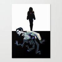 Skin Deep (Under The Ski… Canvas Print