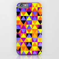 iPhone & iPod Case featuring Triangles II by Lulla