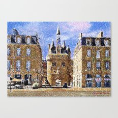 Bordeaux - free interpretation Canvas Print