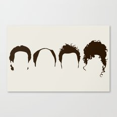 Seinfeld Hair Canvas Print
