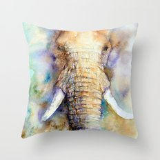 Dream Big Elephant Throw Pillow