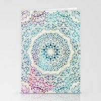 Watercolor Mandala Stationery Cards