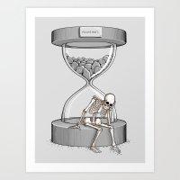 Please Wait Art Print