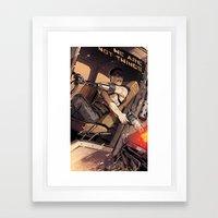 Fury Incarnate Framed Art Print