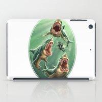 Great White Sharks #1 iPad Case