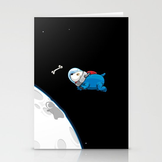 Spacedoggy Stationery Card