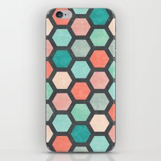 Hexagon 1 iPhone & iPod Skin