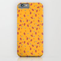 Yellow Dotty iPhone 6 Slim Case