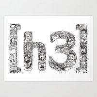 [h3] Doodles Art Print
