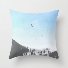 Fly Fly Away III Throw Pillow