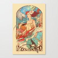 Miss Earth Canvas Print