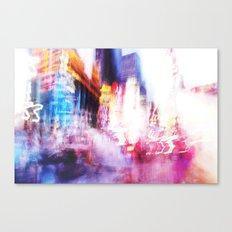 Times Square Photo Canvas Print