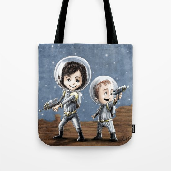 Space Cadets Tote Bag