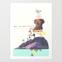 In A Pretty Land---for R… Art Print