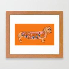 Secrets of the Dachshund  Framed Art Print