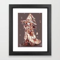 Maya the Spellcrafter Framed Art Print