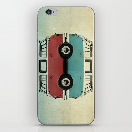 Kombi all fronts  iPhone & iPod Skin
