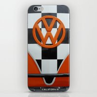 VW Checkers iPhone & iPod Skin