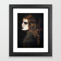 Bloodthirsty Framed Art Print