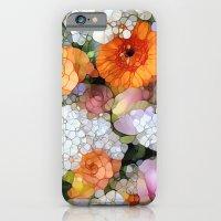 iPhone Cases featuring Joy is not in Things, it is in Us! by Joke Vermeer