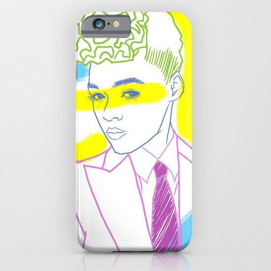 """""""The Electric Lady"""" by Tim Lukowiak iPhone & iPod Case"""