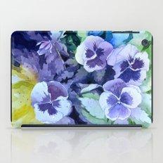 Pansies Crush  iPad Case