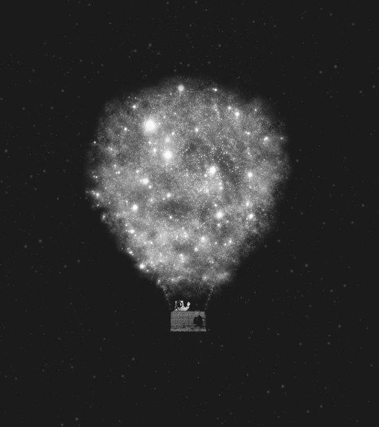 Supernova Sky Ride Canvas Print