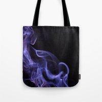 veil of smoke Tote Bag