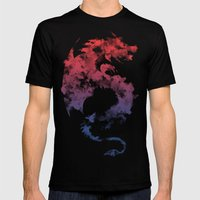 Dragon's Myth Mens Fitted Tee Black SMALL