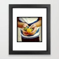 Little Hands Framed Art Print