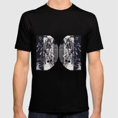 Psychoactive Bear 5 Black SMALL Mens Fitted Tee