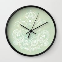 The Evil Eye Emblem  Wall Clock
