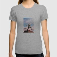 Jump! Womens Fitted Tee Athletic Grey SMALL