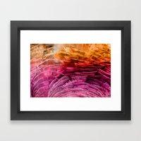 RUFFLED Framed Art Print