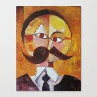 Friedrich Nietzsche Canvas Print